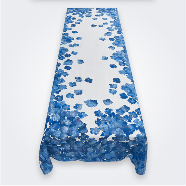 Medium Hydrangea Flower Tablecloth product picture.