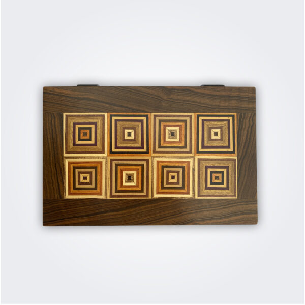 Wood Decorative Tobacco Box product picture.