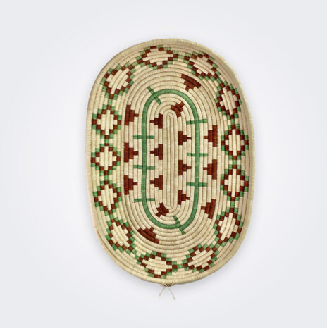 Oval Ethnic Tray