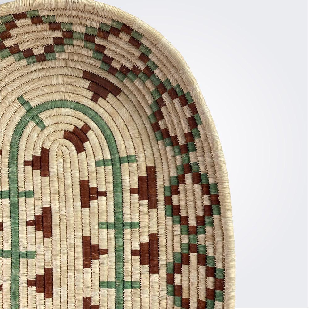 Oval ethnic tray-2