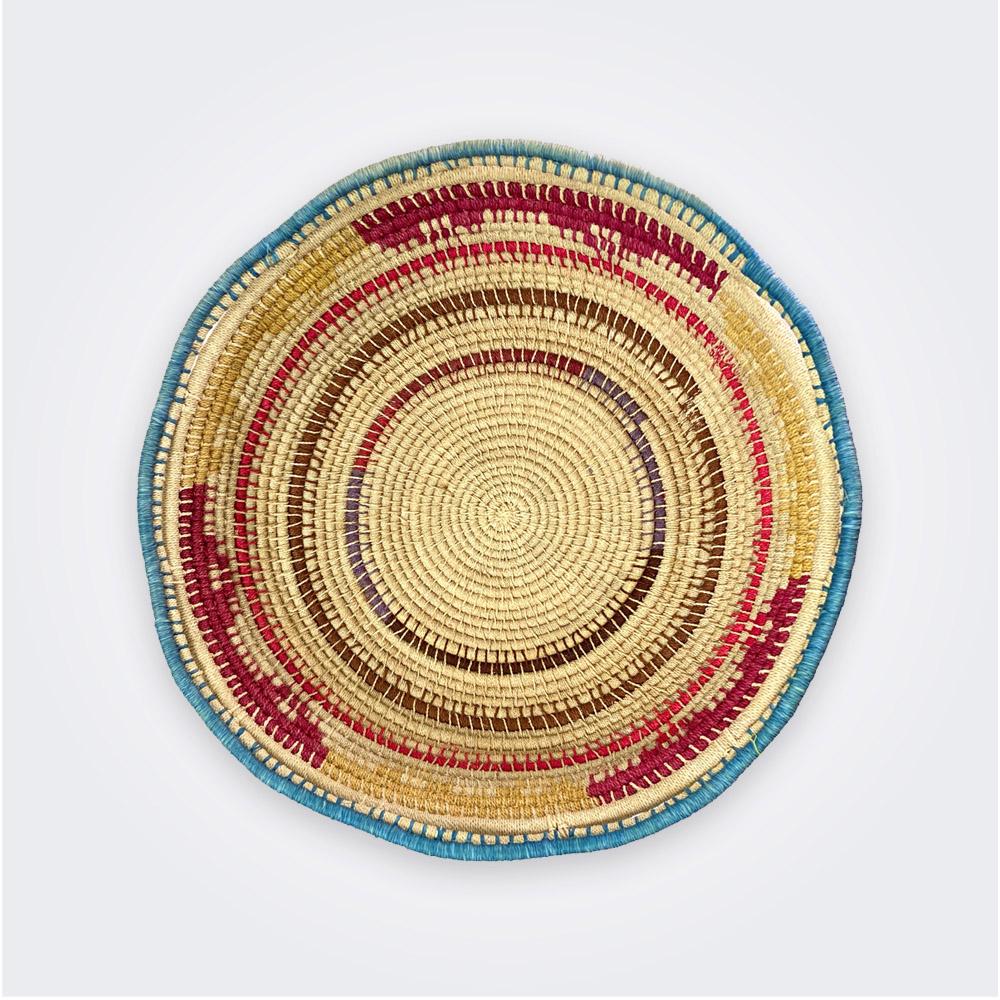 Circular ethnic tray