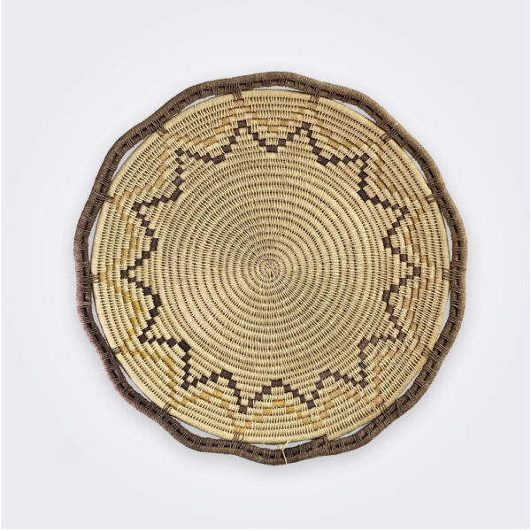 Star ethnic basket product picture.