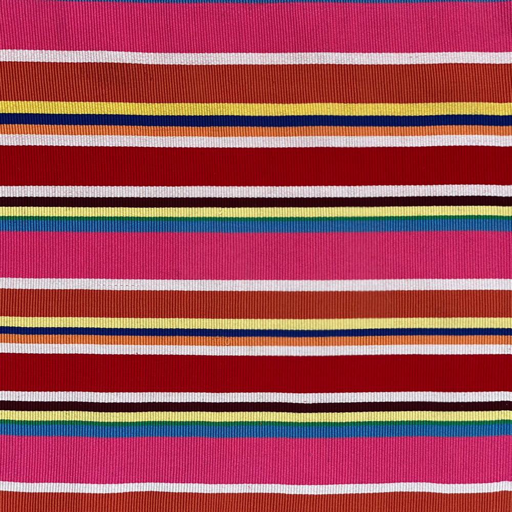 Red pima cotton placemat set 3