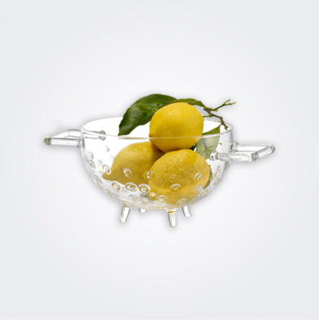 Glass Fruit Colander