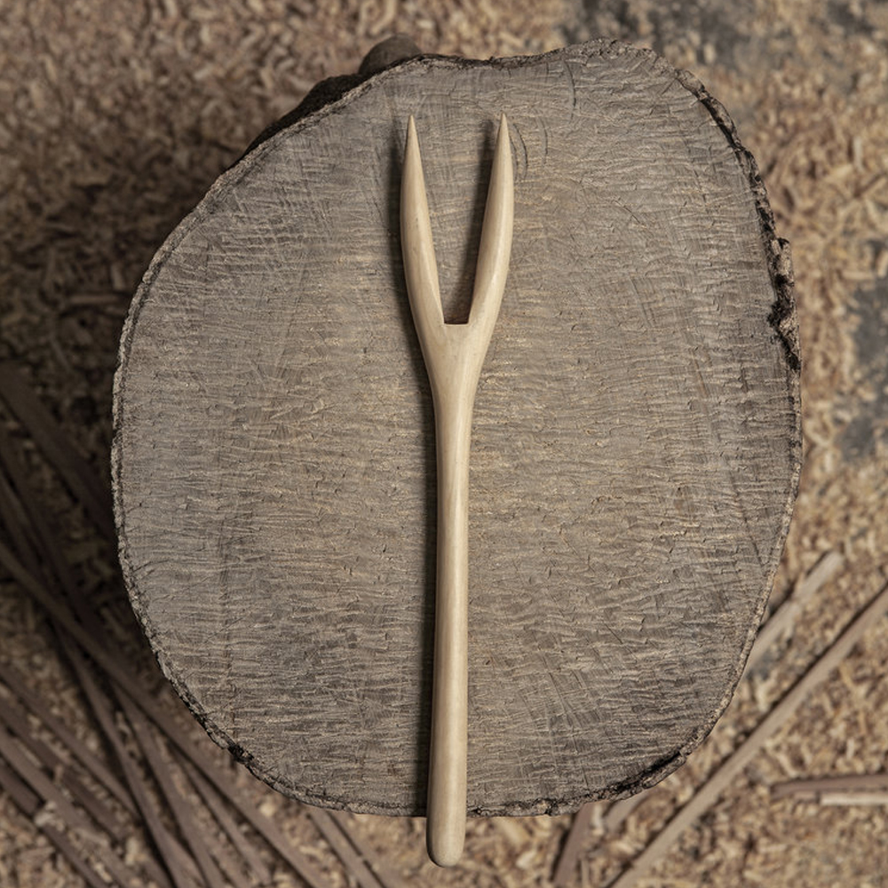 Light wood fork 2