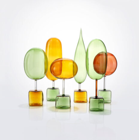 Magic Forest Decorative Glass Set