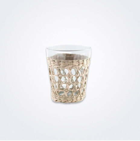 Seagrass Cage Wide Tumbler Set