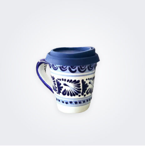 Blue Talavera Pottery Coffee Mug