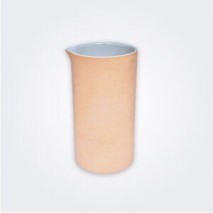 Ceramic and clay decorative vase product picture.