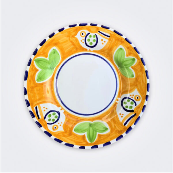 Bird ceramic salad plate product picture.