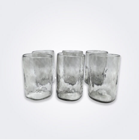 Smoked Glass Highball Set