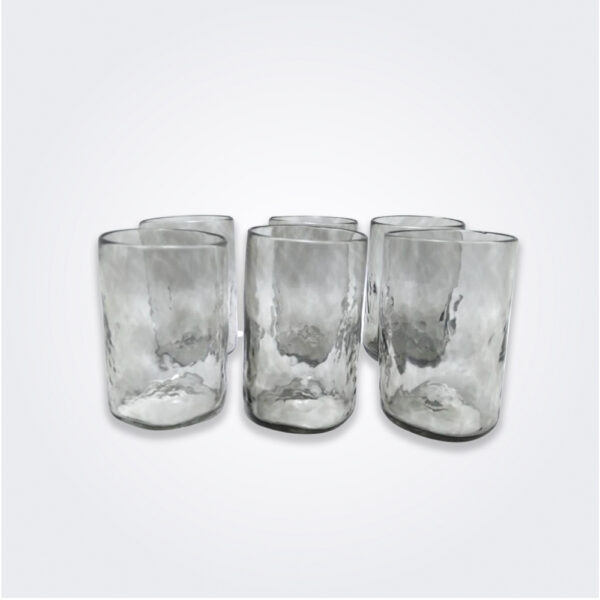 Smoked highball glass set product picture.