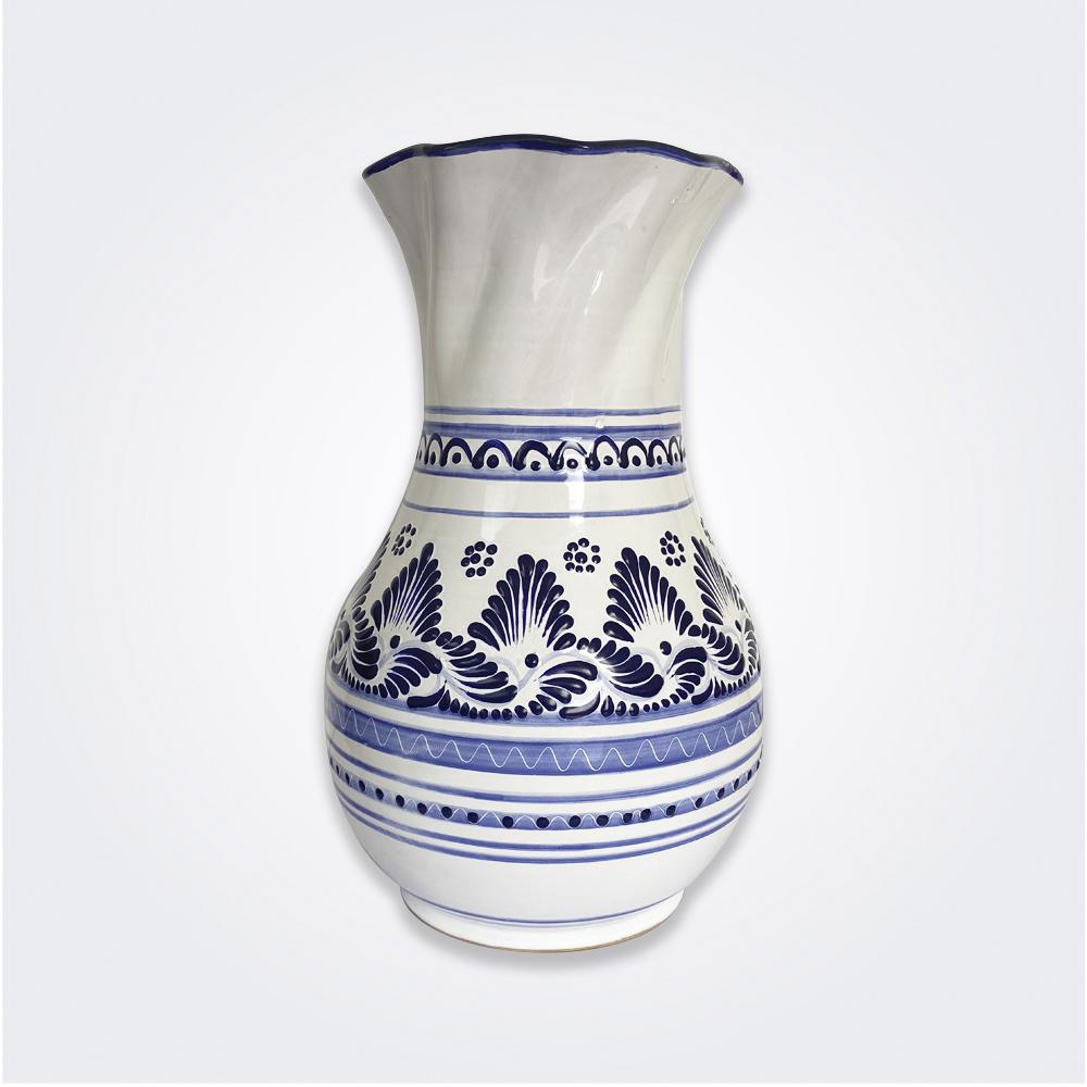 Large Talavera Pottery Vase 1