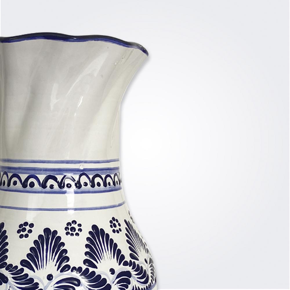 Large Talavera Pottery Vase 2