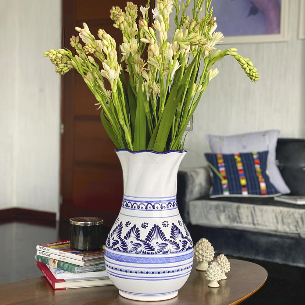 Large Talavera Pottery Vase 3