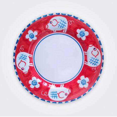 Pig Ceramic Dinner Plate