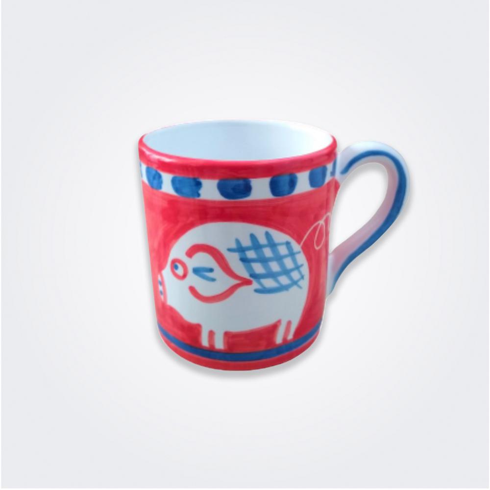 Pig Ceramic Mug 1