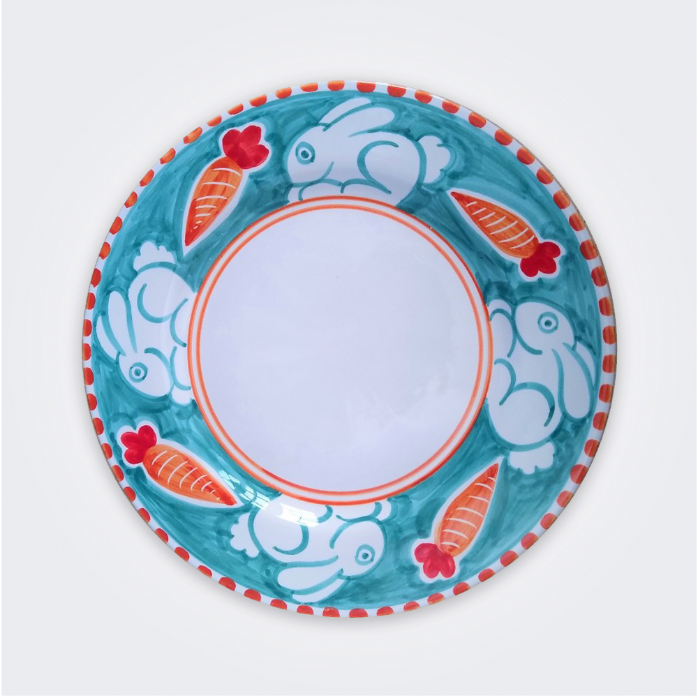 Rabbit Ceramic Dinner Plate