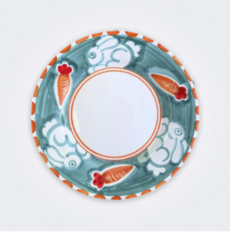 Rabbit Ceramic Salad Plate