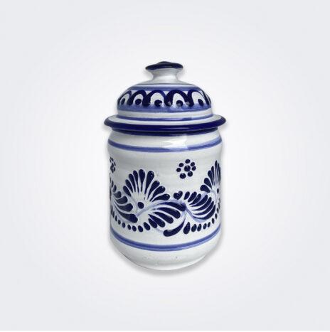 Talavera Pottery Container