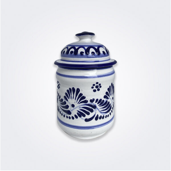 Talavera pottery container product picture.