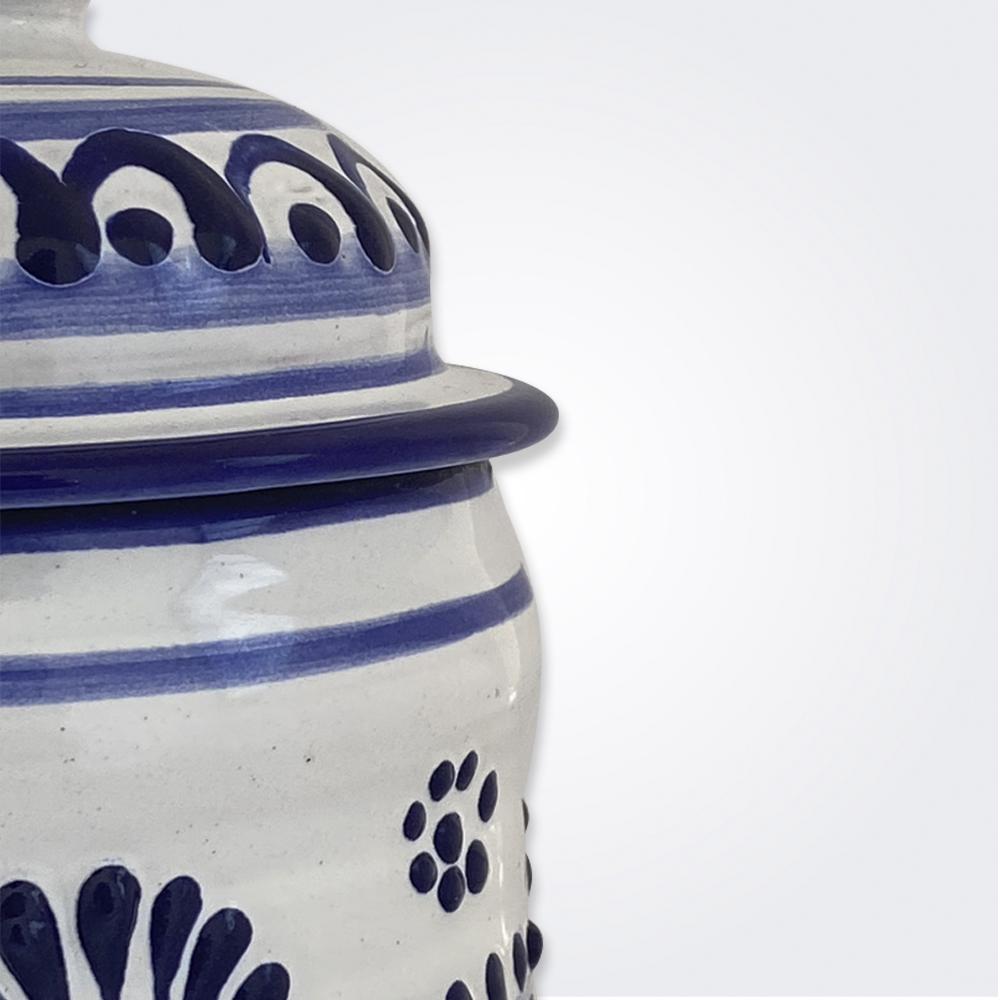 Talavera Pottery Container 2