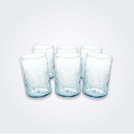 Turquoise Glass Highball Set