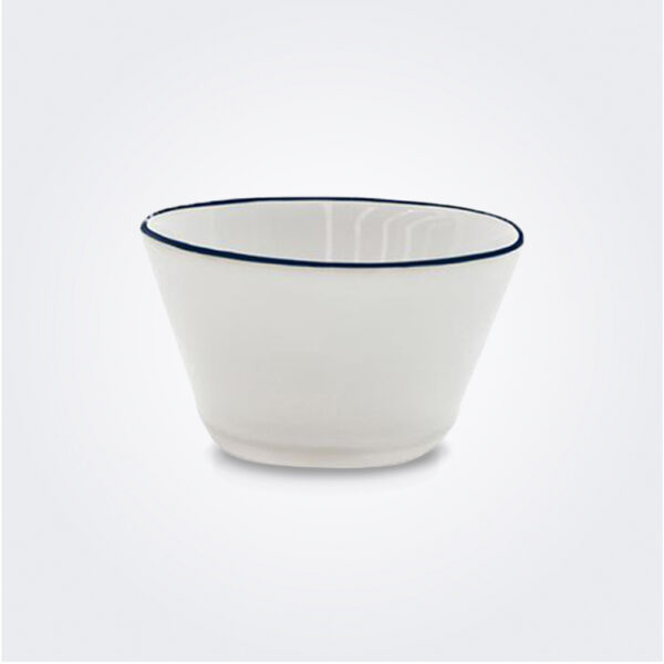 Beja ceramic soup bowl set product picture.