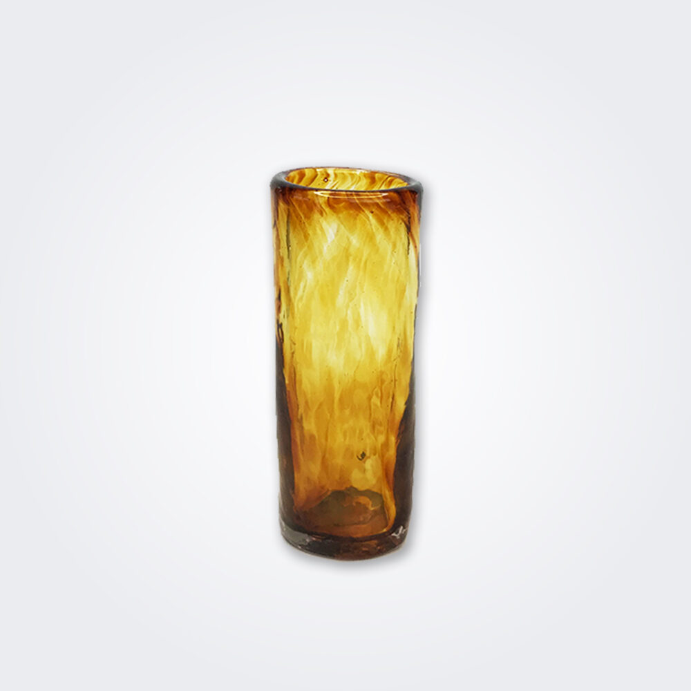 Amber Glass Shot Set detail