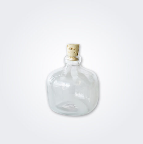 Small White Glass Carboy