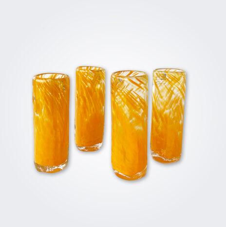 Yellow Glass Shot Set