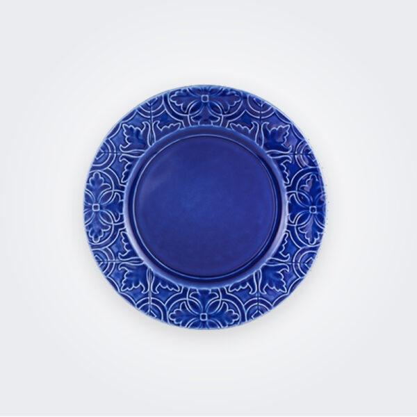 Rua Nova Indigo Dinner Plate product picture.
