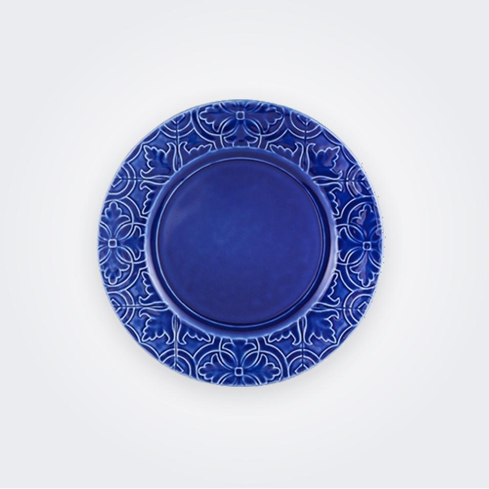 Rua Nova Indigo Dinner Plate