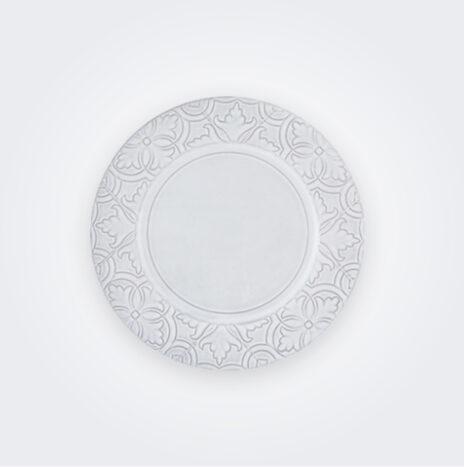 Rua Nova White Dinner Plate
