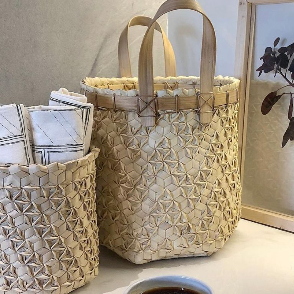 Sobe basket with handles set ii context 2
